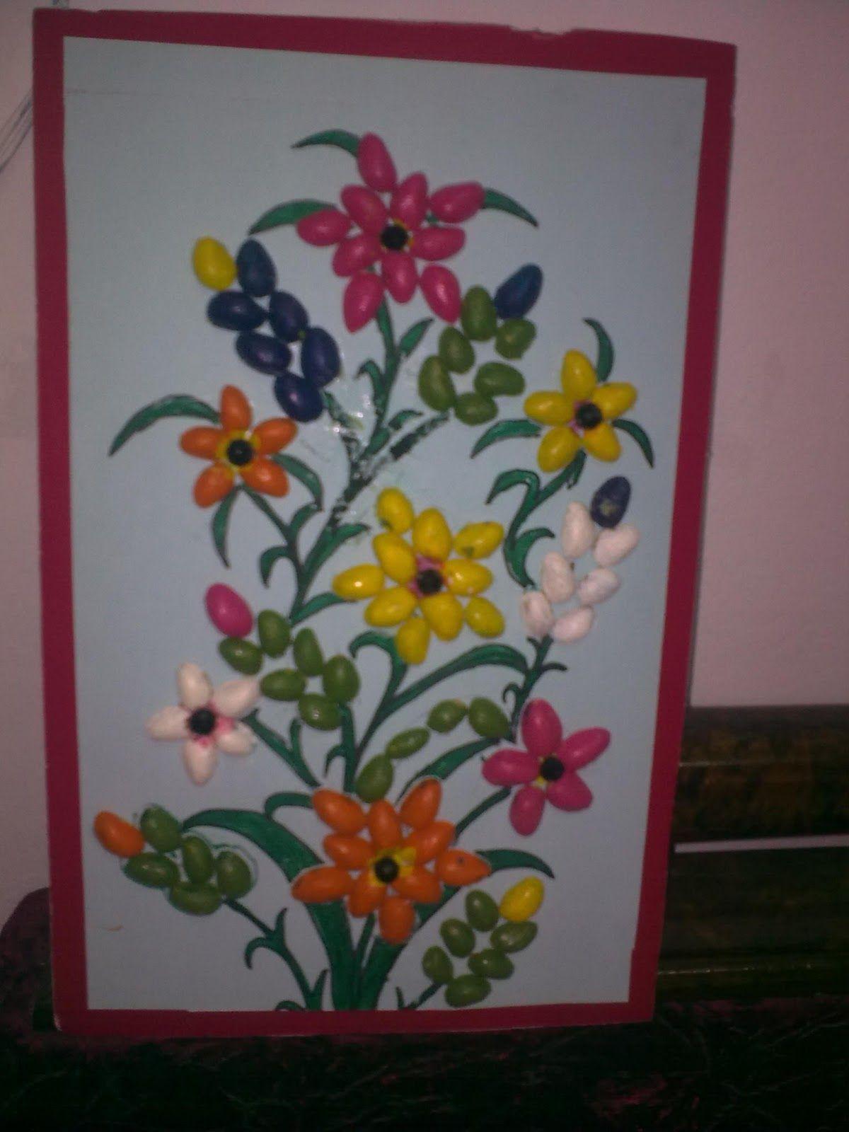 a1475990bec Ideal Crafts: Pistachio Shell Crafts   Craft   Pistachio shells ...