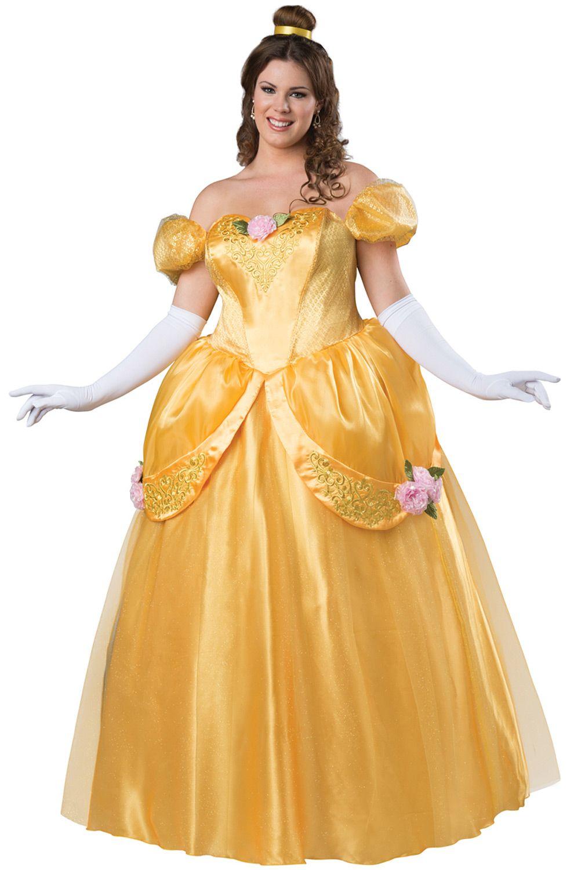Beautiful Princess Plus Size Costume | Halloween Ideas in ...