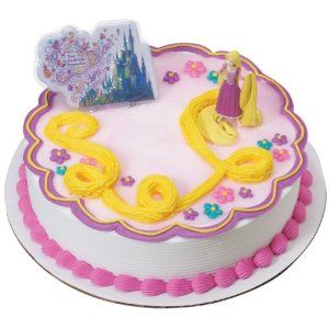 tangled cake topper Disney Tangled Rapunzel Cake Topper Kit
