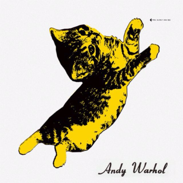 Andy Warhol kitten