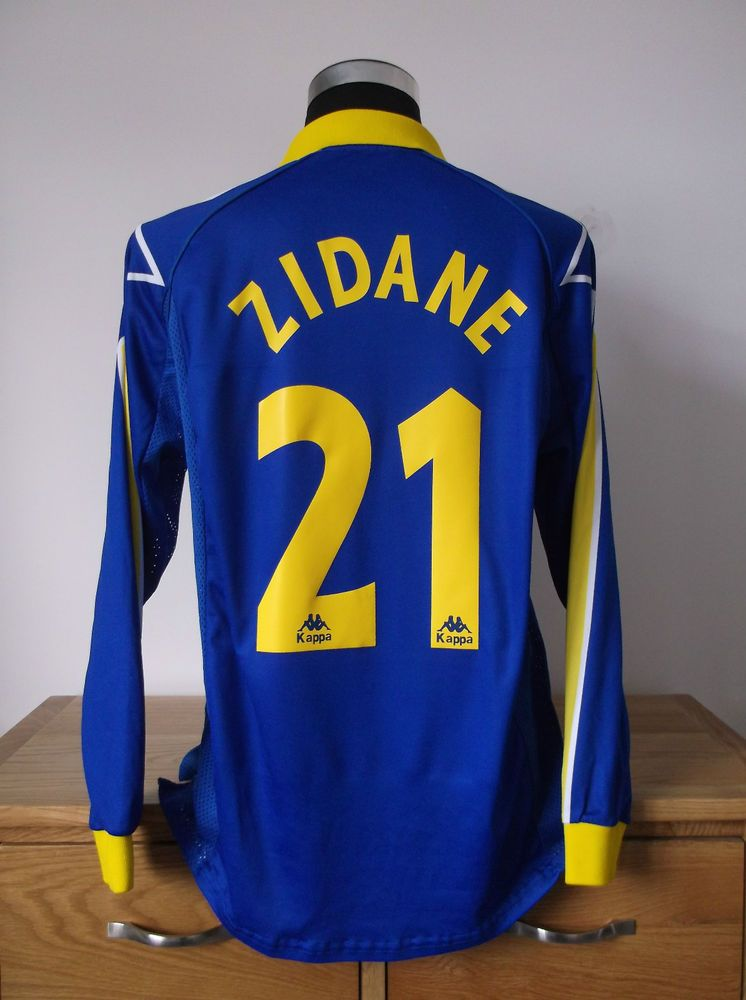 online store a32b4 d5a2b Juventus Third Shirt (L) 1997/98 *ZIDANE 21 | shirts ...