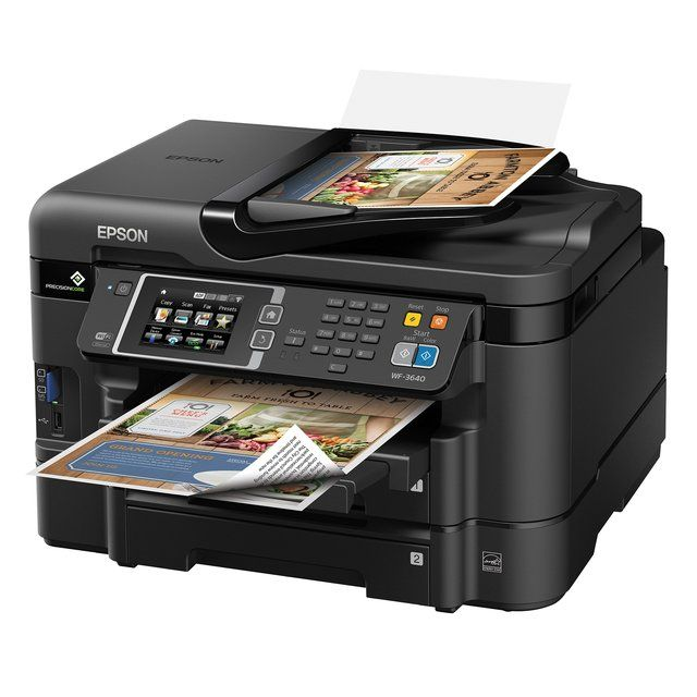 Epson Workforce Wf 3620 Wifi Direct All In One Printer Inkjet