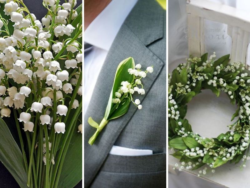 Lilly Of The Valley Various Types Wedding Flowers To Make Your Event Special