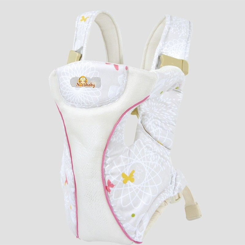 nacobaby sport white baby carrier