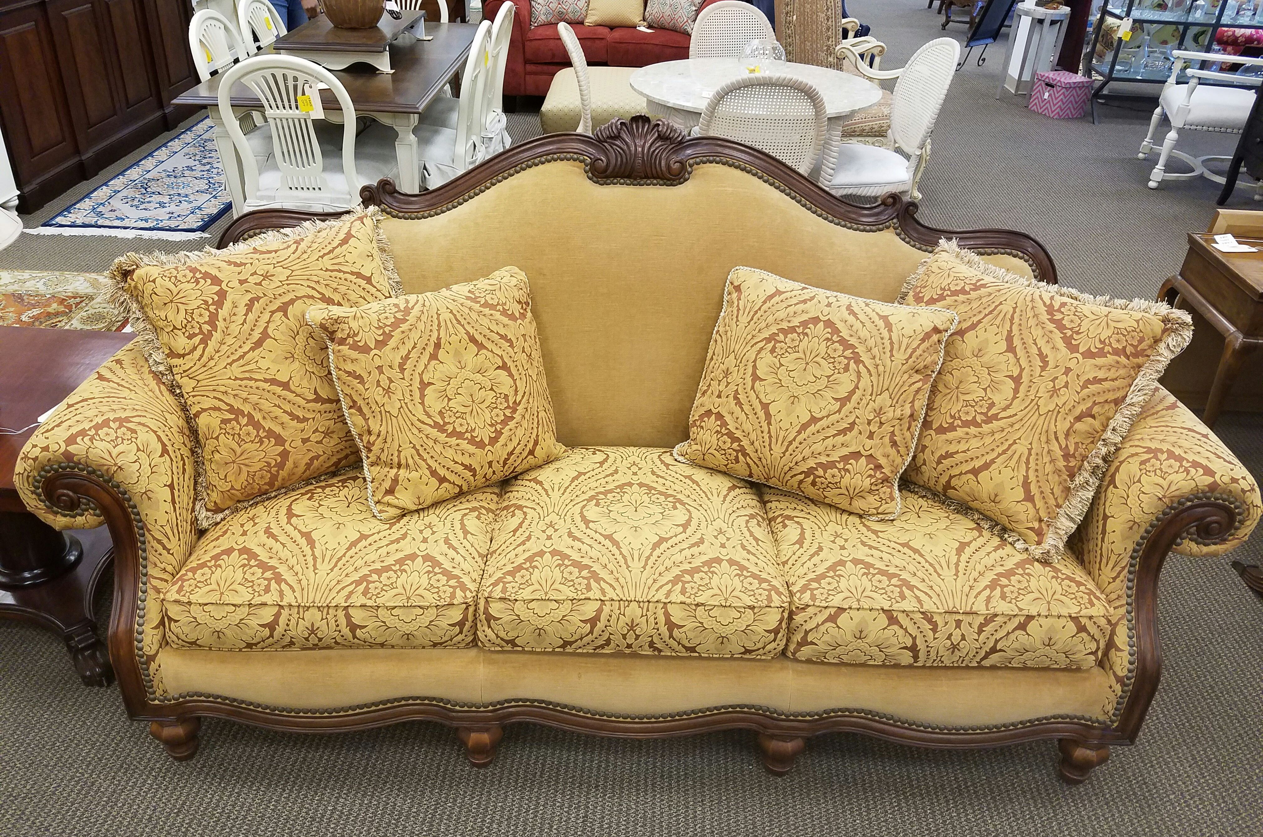 This Thomasville vintage sofa is priced at only 495