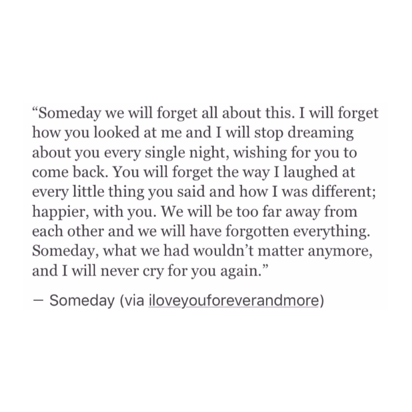 Moving On Quote Someday Moving On Quote  Quotes  Pinterest  Mottos Poem And