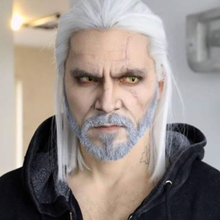 Ben Schamma As Geralt Von Riva The Witcher Nice Cosplayer In 2019