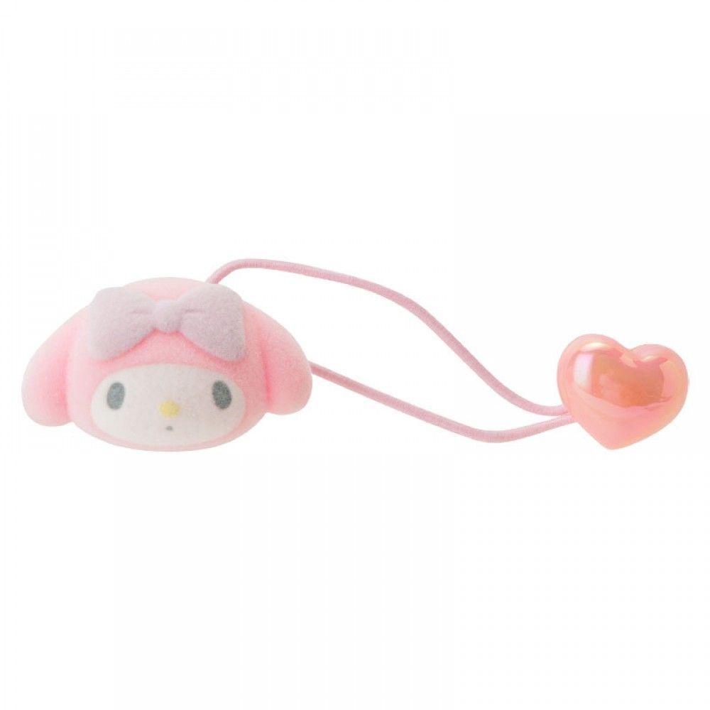 New Sanrio My Melody flocky doll Ponytail Holder hair tie From Japan F S   Sanrio 3de92f55e7b