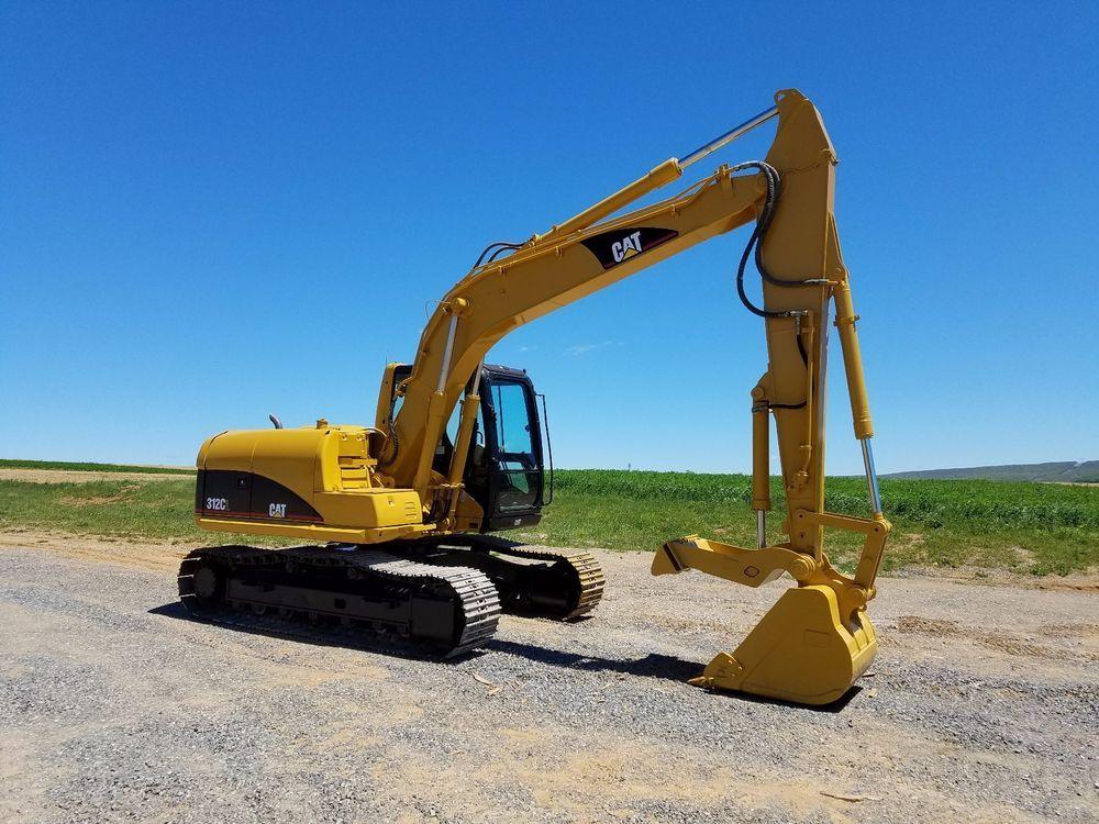 2002 Caterpillar 312CL Excavator Hydraulic Diesel Track Hoe Cat