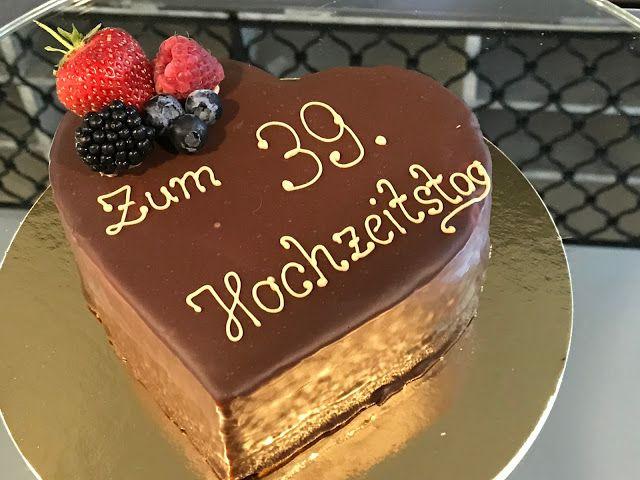 Sacherherz Zum 39 Hochzeitstag London Meets Garmisch