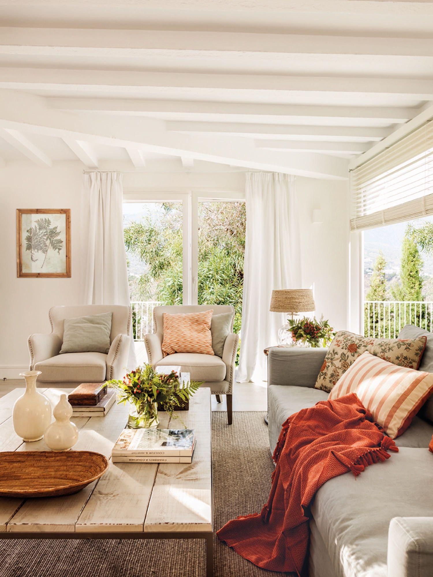 Casa Reformada En M Laga Con Aire R Stico Contempor Neo  # Muebles Roman Malaga