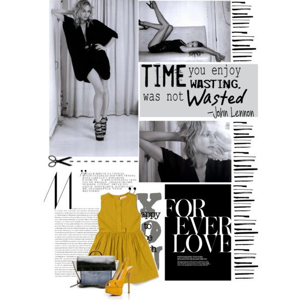 Diane Kruger - marie claire, created by e-angermayer on Polyvore