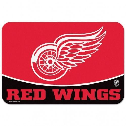 Detroit Red Wings Mat 20x30 Small Size Special Order