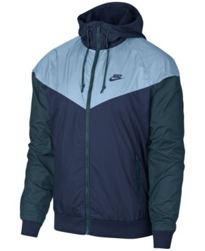 1e3aed2cf4b8 Nike Men s Windrunner Colorblocked Jacket - Blue L