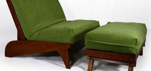 futon chairs ottoman with green cushions pin by mary paulino on amo el verde    pinterest   futon chair  rh   pinterest