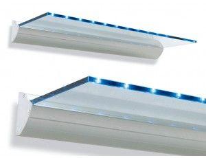 Mensole In Vetro Luminose.Palau Mensola Luminosa Mensola Illuminata Con Fonte Luminosa Led