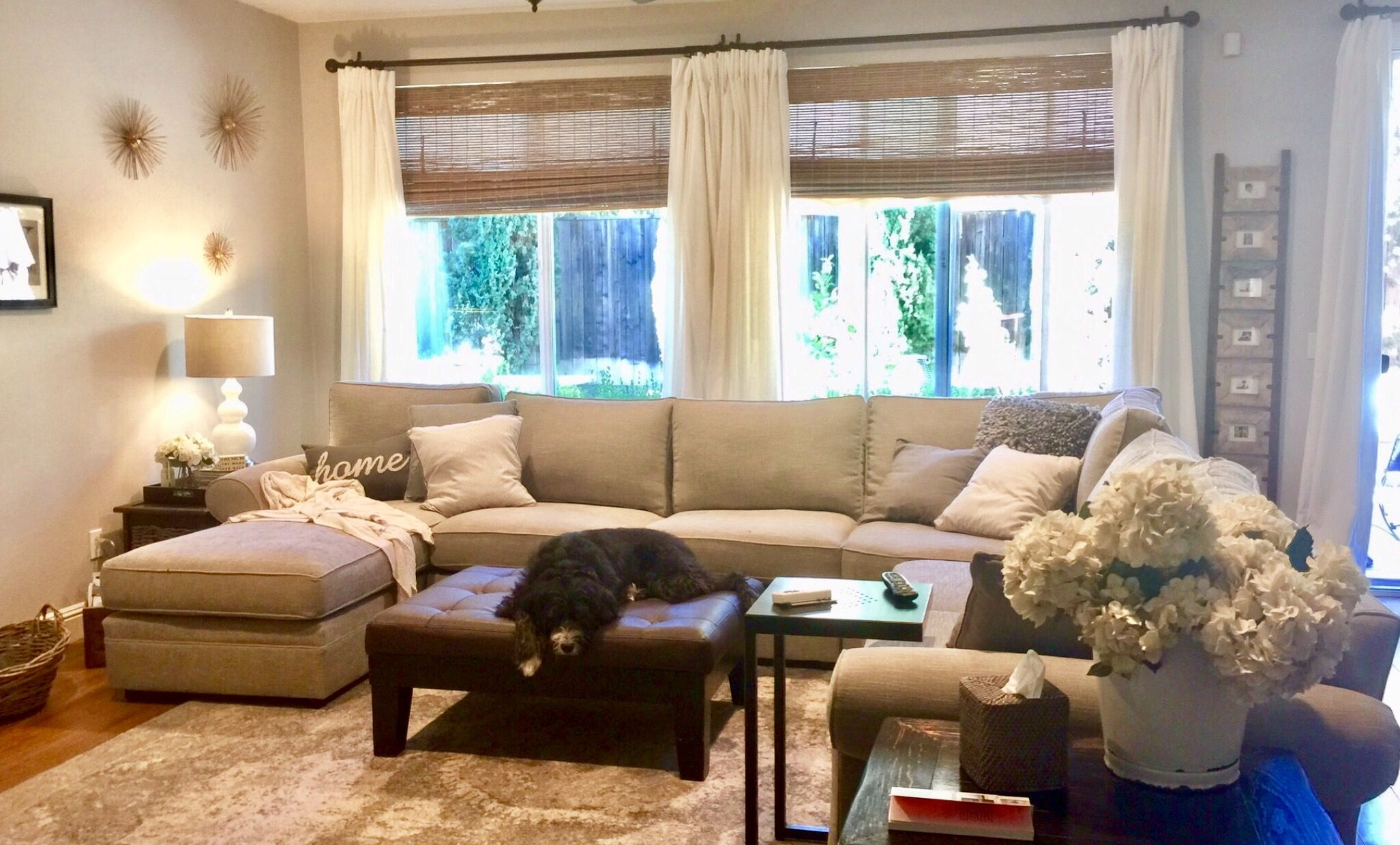 pottery barn pearce sectional love with images  living
