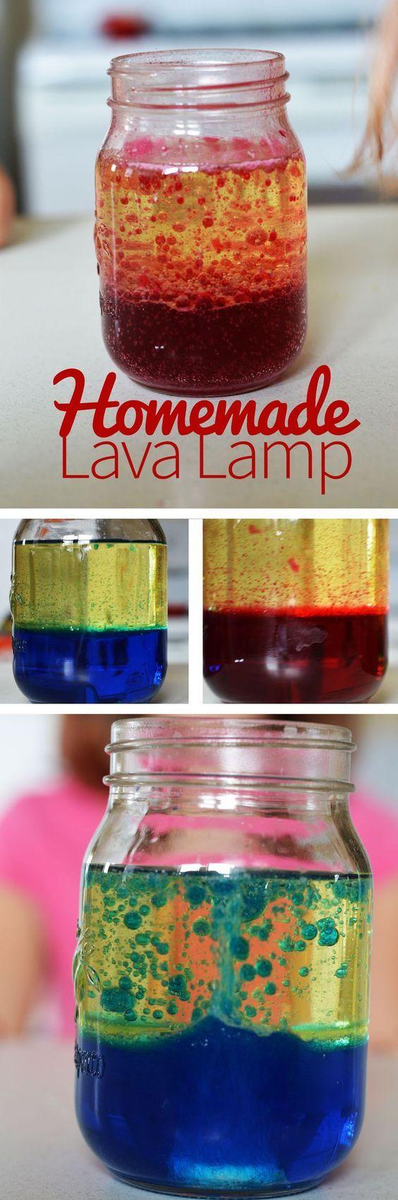 Lava lamp overnight - Homemade Lava Lamp