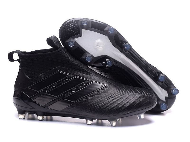 enfermero Caliza Sofisticado  Adidas ACE 17+ Purecontrol Firm Ground Black Soccer Cleats | Adidas ace,  Zapatos nike hombre, Zapatillas de fútbol