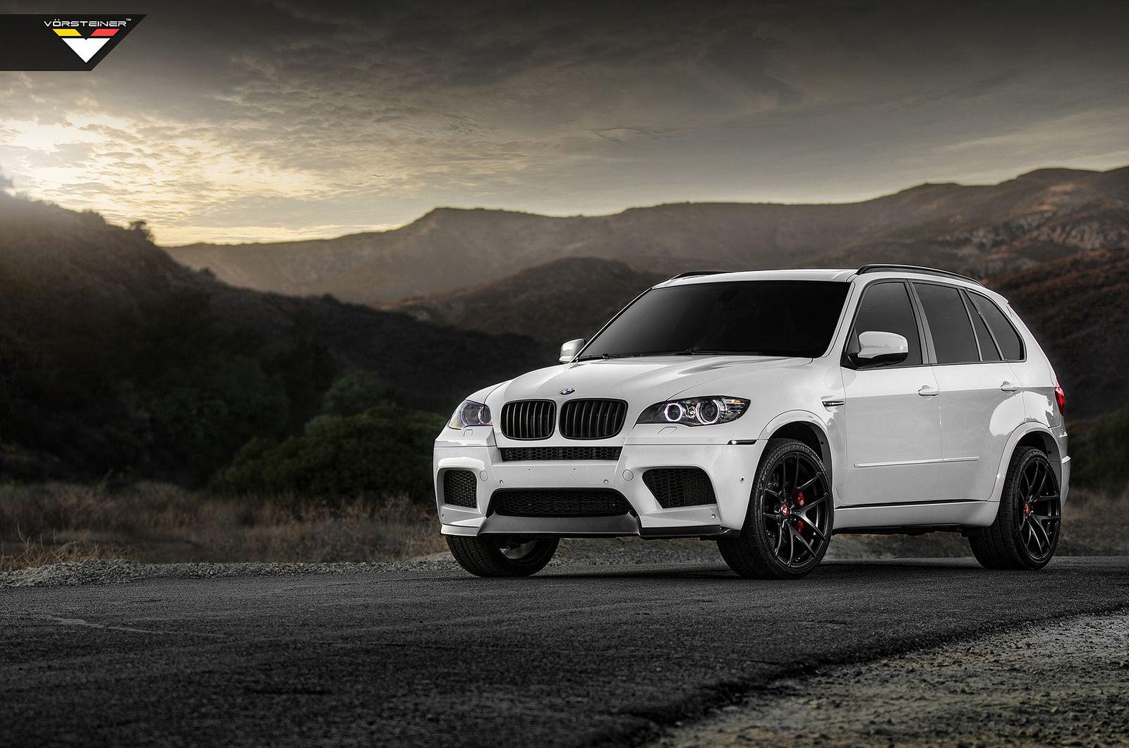 Vorsteiner BMW X5M In Alpine White Is Completely