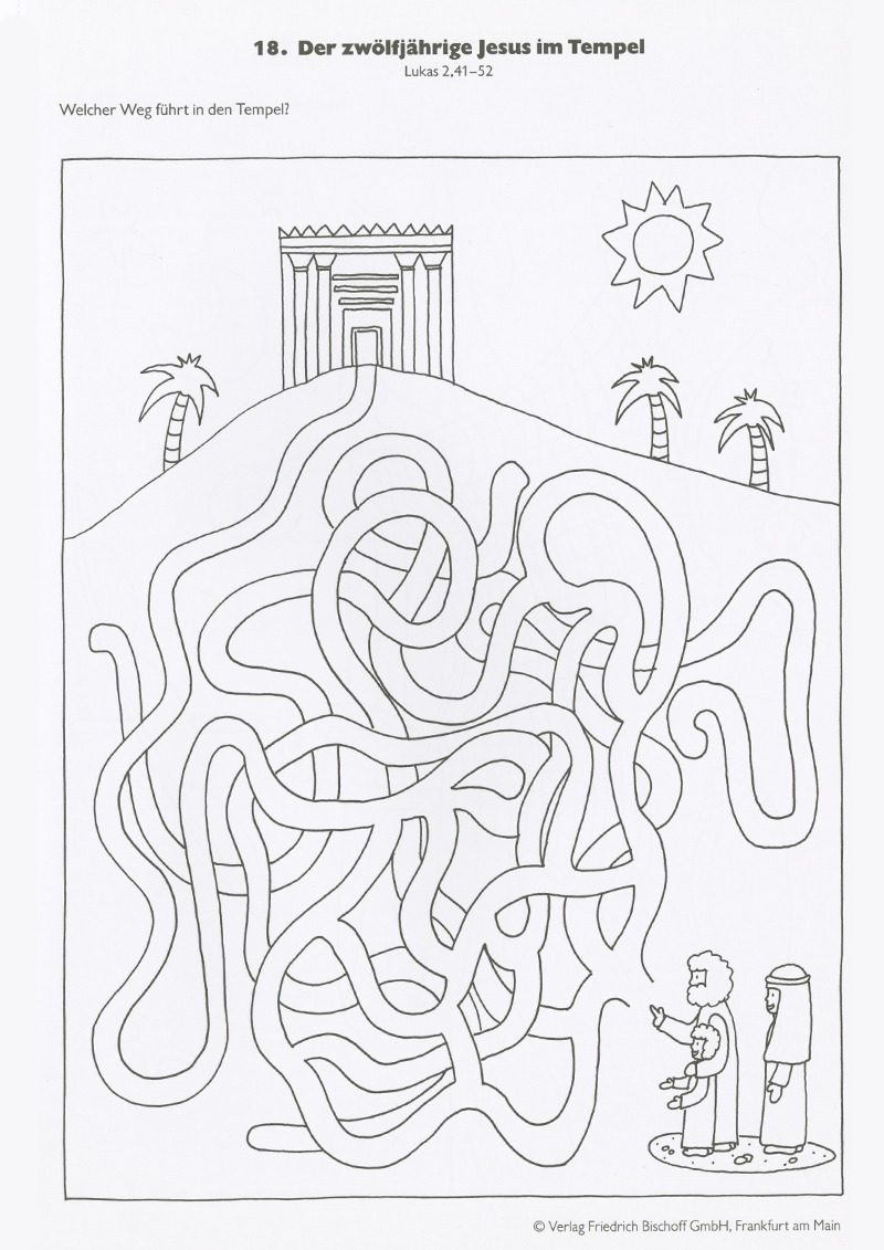 Der 12-jährige Jesus im Tempel | Religion | Pinterest | Tempel ...