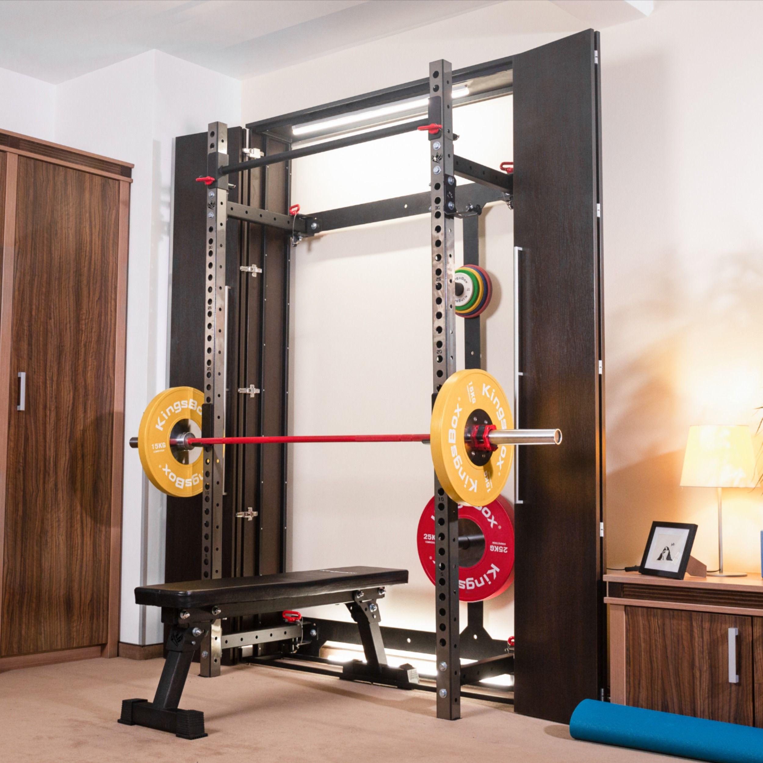 kingsbox closet gym closet gym space