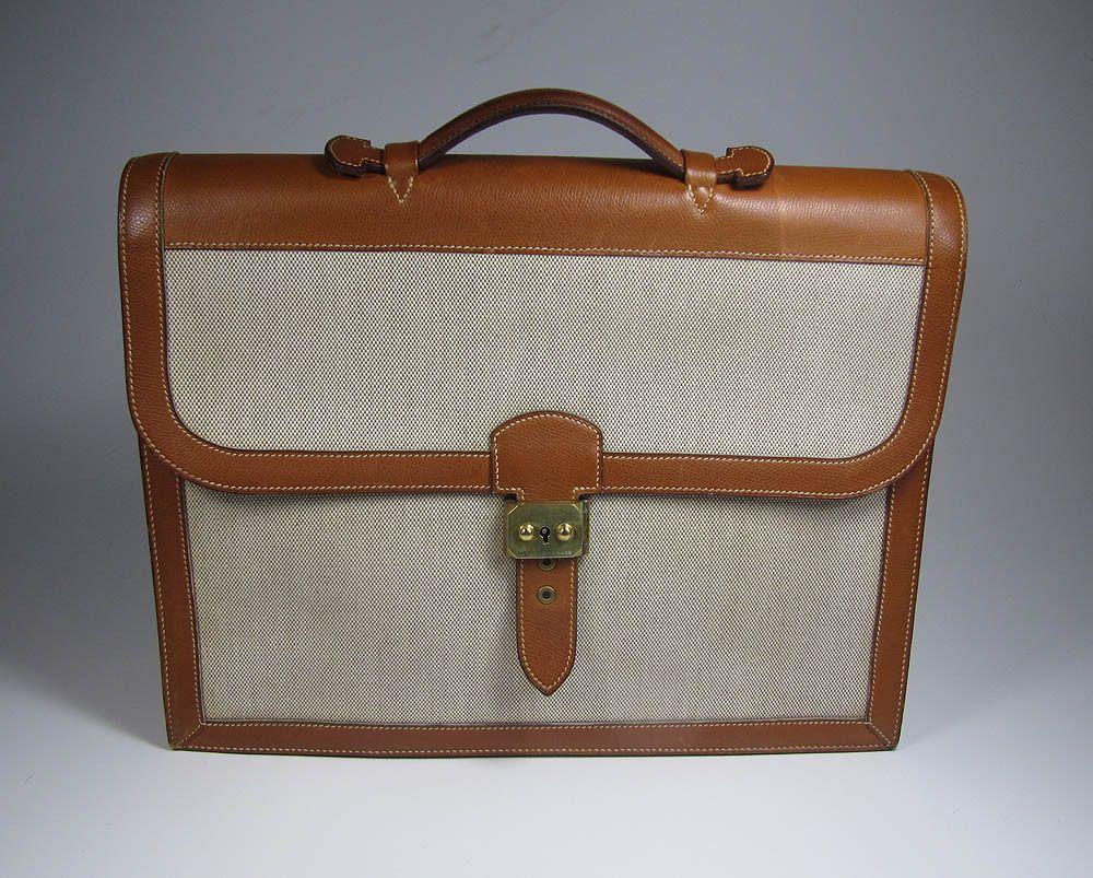 vintage 1959 hermes briefcase....love...  ef1bd36479740