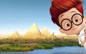 Mr peabody and sherman 10 by BestMovieWalls