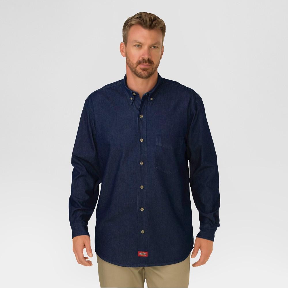 Men/'s Casual Button-Down Shirts Big /& Tall Long Sleeve Denim Shirt XL To XXXL