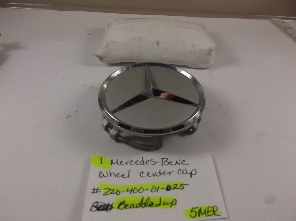 de7e4b332c8ba Mercedes Benz Himalaya grey Wheel center cap p n 220 400 01 25 hub cover  5Mer  Mercedes