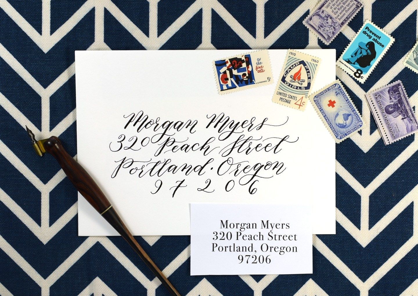 What Is Kaitlin Style Calligraphy The Postman S Knock Snail Mail Envelopes Modern Calligraphy Calligraphy Styles