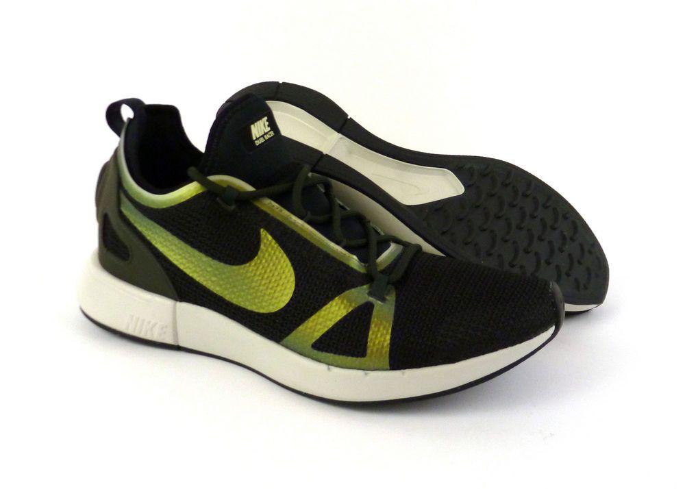 wholesale dealer 10984 102aa Nike men s Duel Racer casual shoes sneakers kicks Black Sequoia NIB! 918228  012  Nike