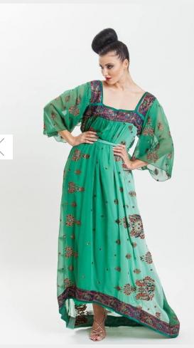أجدد موديلات جلابيات رمضان 2014 Fashion Dresses Saree