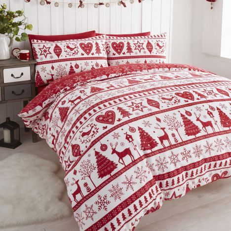 And Bedding Duvet Sets Toddler Set Quilt Cover X To The Festive Season 2 Designs Called Blitzen Father Christmas Ivy Snowy Single