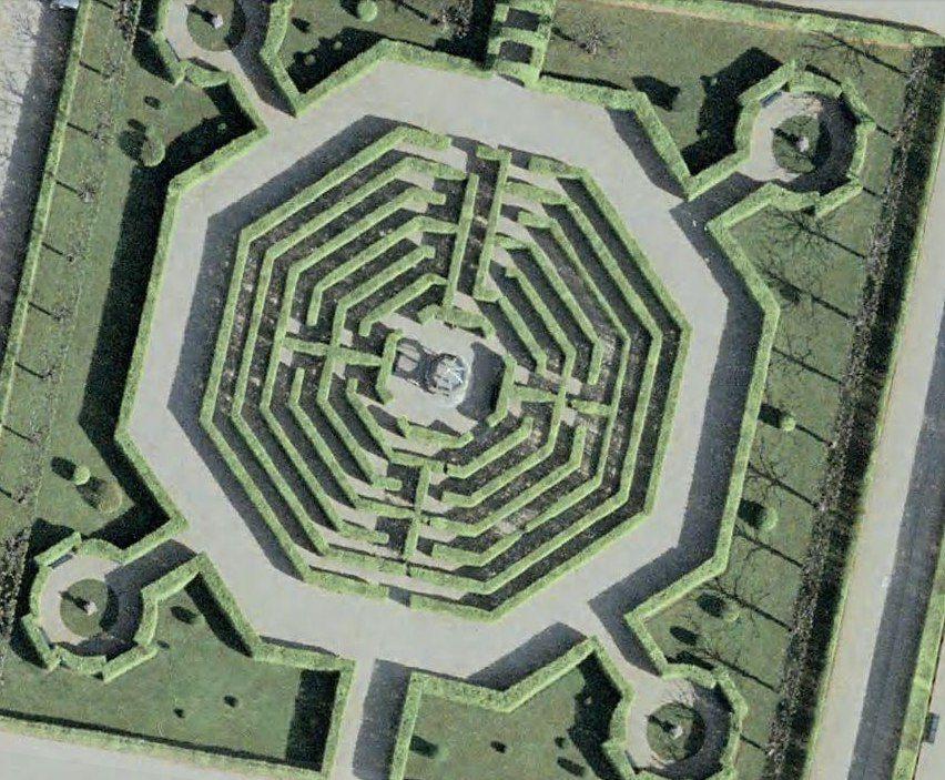 Fresh Herrenhausen Irrgarten maze in Hannover Germany Not a sophisticated maze but set