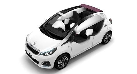 Sakerhet Nya Peugeot 108 Maximera Forarens Och Passagerarnas