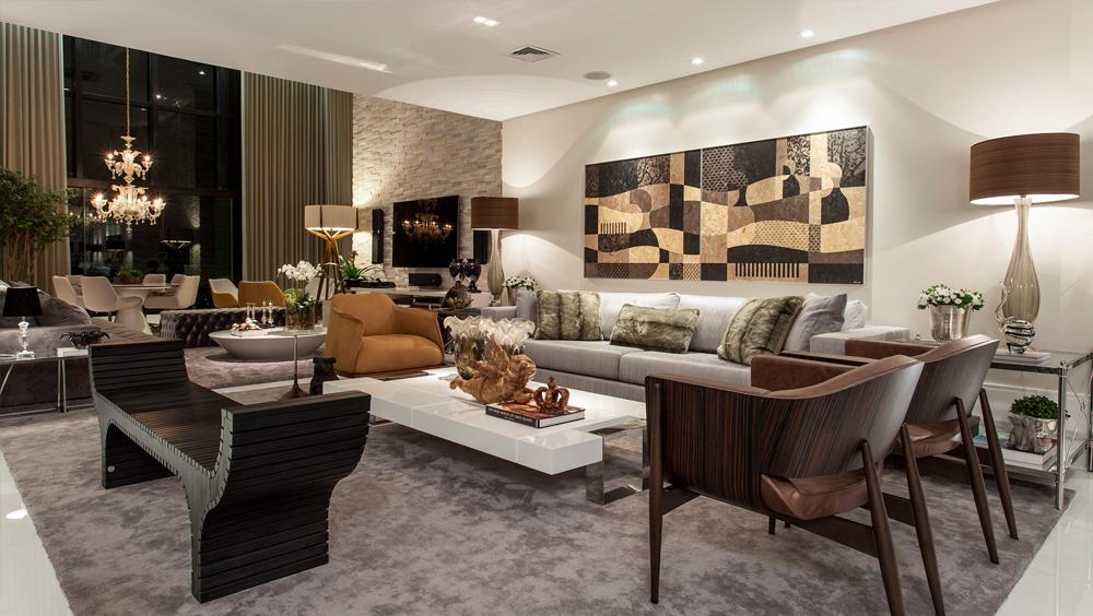 apartamento com decora o contempor nea e cl ssica e salas
