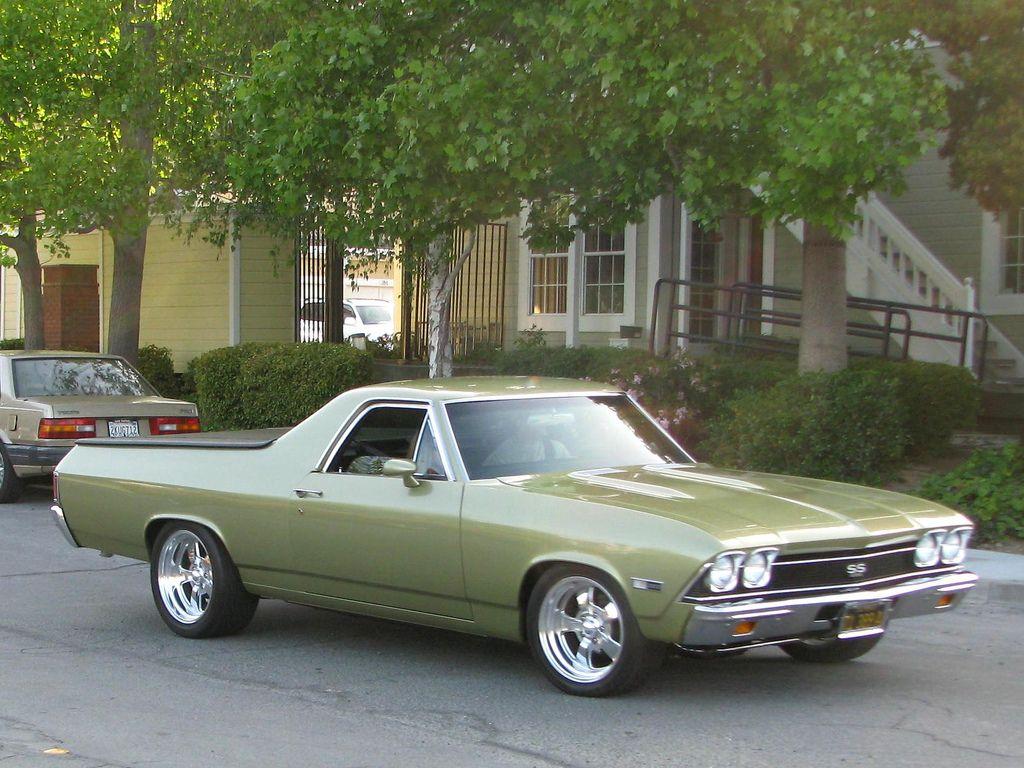1968 chevrolet el camino ss 350 custom 71 389 a 1