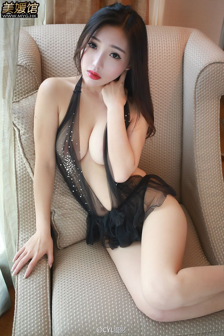Anna See Through Nipples Black Lingerie By Cyl -9833