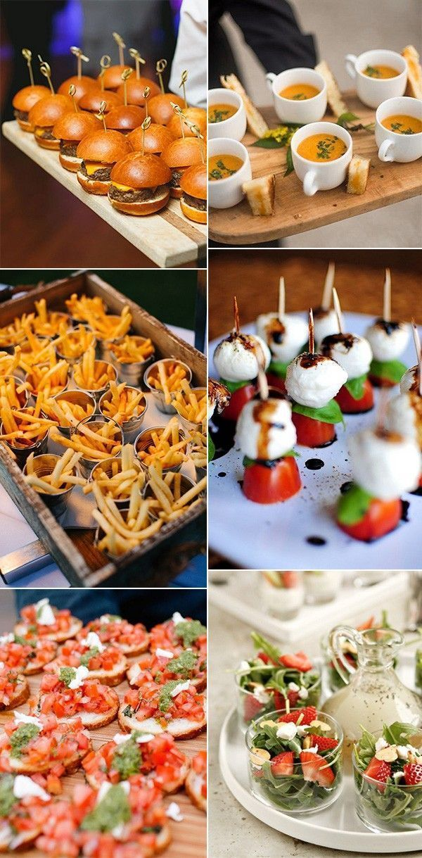 12 Wedding Food Ideas Your Guests Will Love - EmmaLovesWeddings #buffet