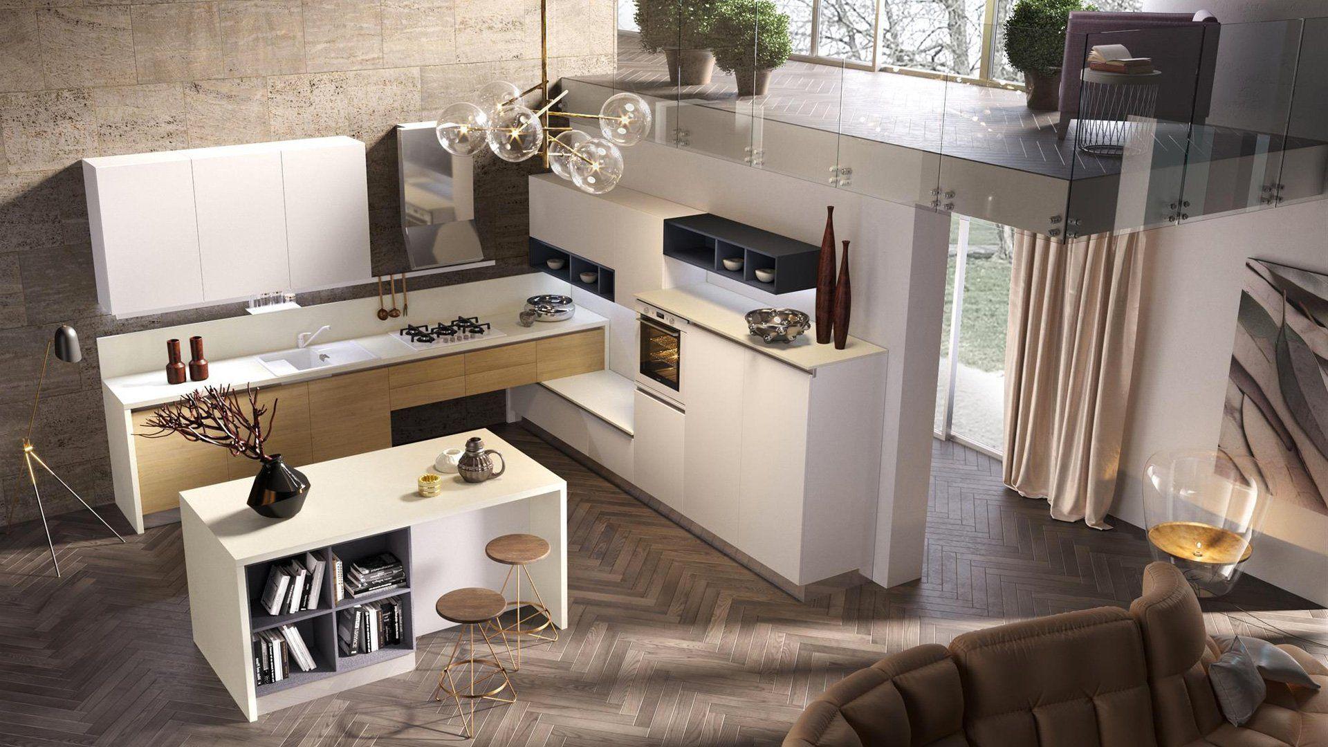 Cucina Puzzle Beatrice - Chateau D\'Ax | cucina | Cucine ...