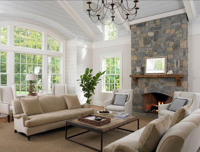 Decorating Living Rooms With Vaulted Ceilings