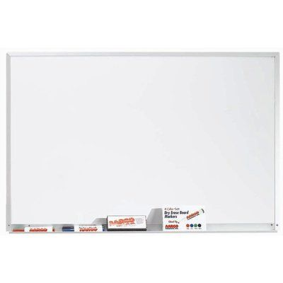 Aarco Magnetic Wall Mounted Whiteboard Magnetic Wall Dry Erase Wall Wall Mount