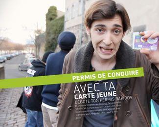 Carte Jeunes Nouveau Monde : Le permis de conduire