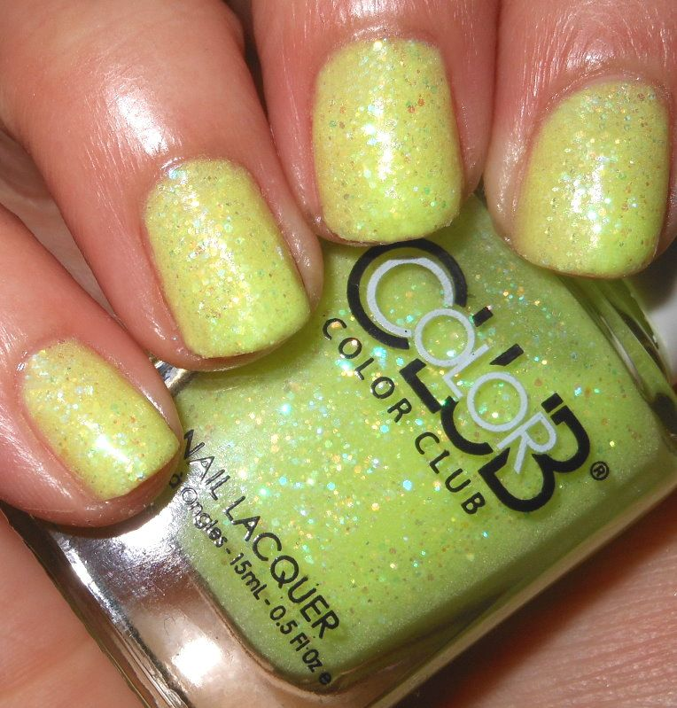 Imperfectly Painted: Color Club It\'s Electric! | Nail Polish Mania ...
