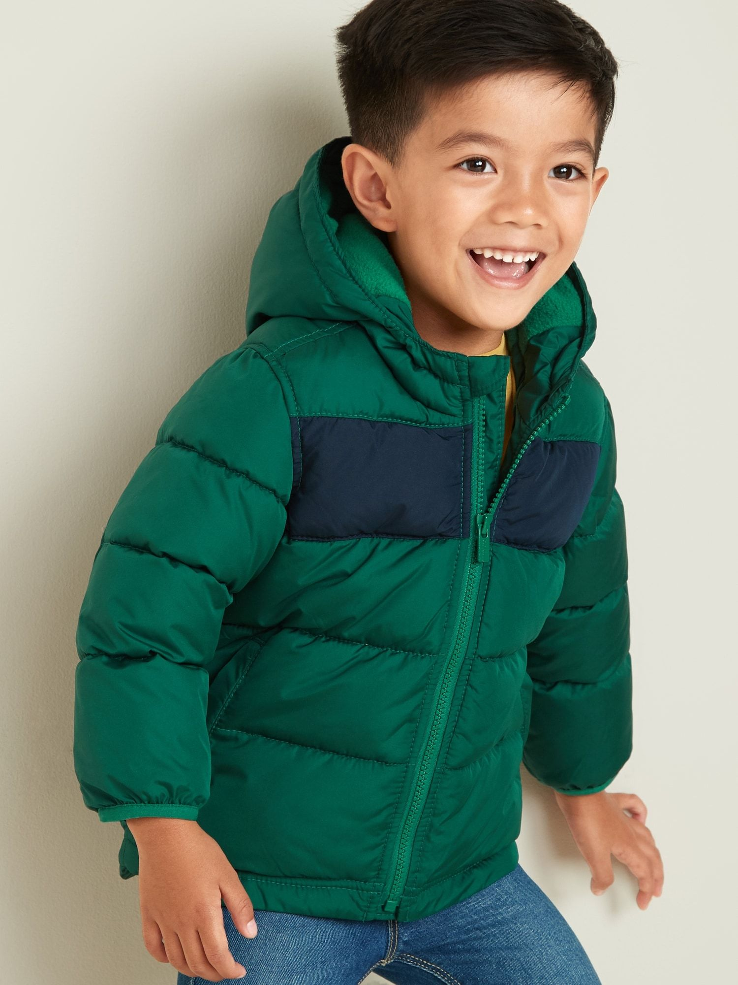 Frost Free Color Blocked Puffer Jacket For Toddler Boys Old Navy Old Navy Old Navy Jackets Puffer [ 2000 x 1500 Pixel ]