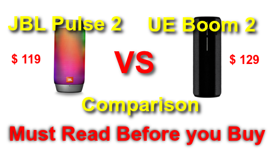 Jbl Pulse 2 Vs Ultimate Ears Boom 2 Which Speaker Should I Buy With Images Jbl Bluetooth Speakers Portable Ue Boom
