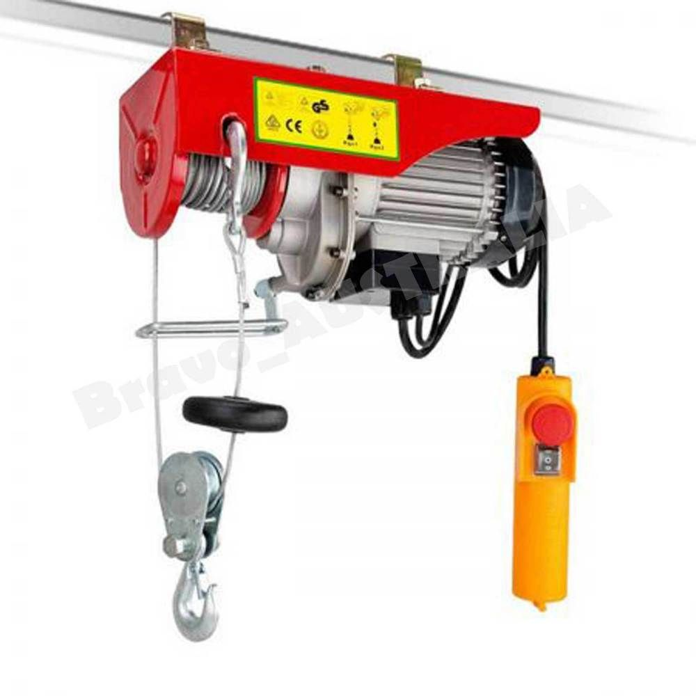Overhead Crane 500kg : Electric hoist winch kg garage overhead ceiling