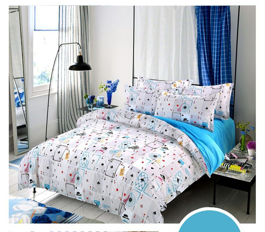 hot sale home textile 34pc bedding sets size for twin