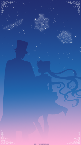 Tuxedo Mask Sailor Moon Lockscreen Bases Used In This Image By